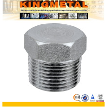 Stainless Steel Square NPT Screwed Threaded Plug